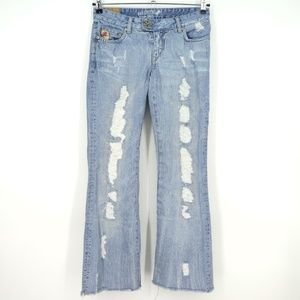 Parasuco Denim Cult Distressed Destroyed Jeans